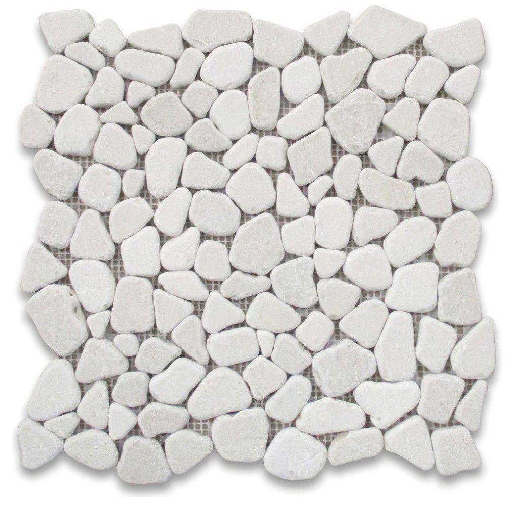 modamo pebble stone white 12710inch x 12710inch