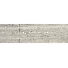 Carreaux pour murs et sols Wooden White, 3 po x 12 po, marbre poli