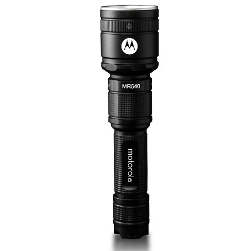 Motorola ReLED 600 Lumen Rechargeable Cree LED Flashlight