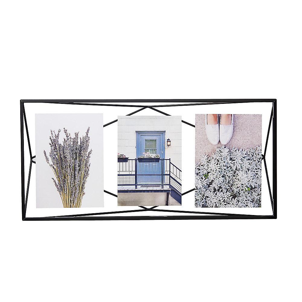 umbra prisma cadre photo filaire en m tal entre deux. Black Bedroom Furniture Sets. Home Design Ideas