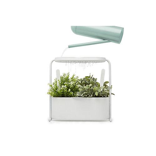 Jardinière D'Herbes Aromatiques Giardino Avec Un Bac Perforé Pour Drainage