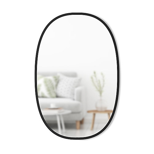 Hub Mirror Oval. Miroir Mural Ovale Hub