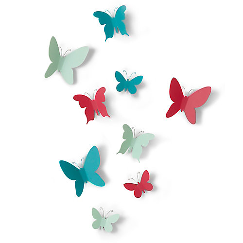 Mariposa Wall Decor (9) Assorted