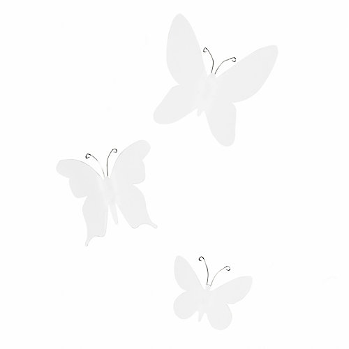 Mariposa Wall Decor (9) White