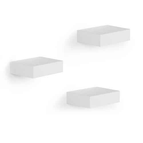 Showcase Shelves (3) White