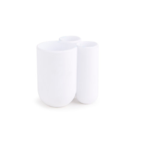 Touch Toothbrush Holder White