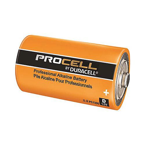 Procell Alkaline, D Cell,  1.5-Volt Battery