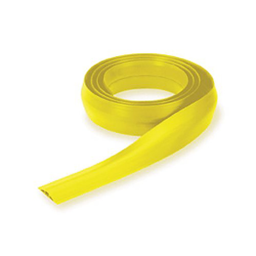 Hubbell Wiring Floortrak 10 Ft. L Floor Cable Cover Small Channel In Yellow