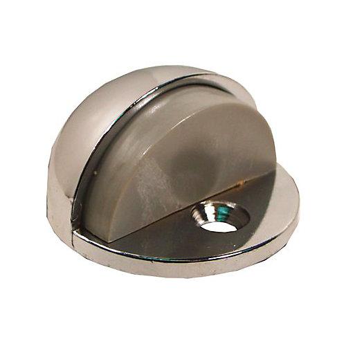 Dome Door Bumper In Chrome, 5/32 In.