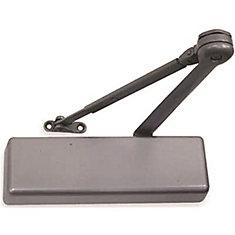 LCN 4010 Series Aluminum Painted Left-Handed Hold Open Arm Door Closer