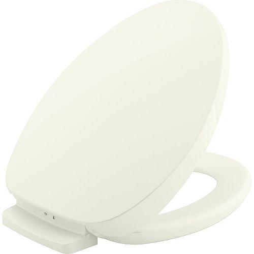 KOHLER Purewarmth heated elongated toilet seat in Biscuit