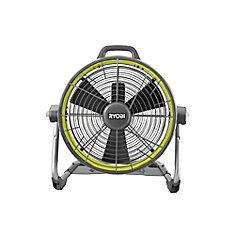 Ventilateur hybride 18V ONE+ 18 pouces à tambour pour canon à air comprimé