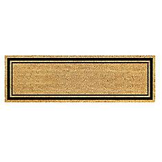 Border Natural 18-inch x 48-inch Coir Doormat