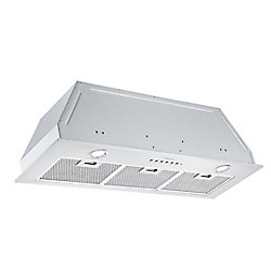 Ancona BN636 36-inch Ducted Built-In Range Hood with Night Light Feature in Stainless Steel