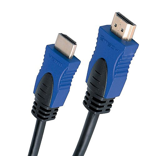 CJ Tech 4K 3D HDMI 2.0 Cable with Ethernet - 3 ft.