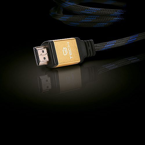 CJ Tech Premium 4K 3D HDMI 2.0 Cable with Ethernet - 3 ft.