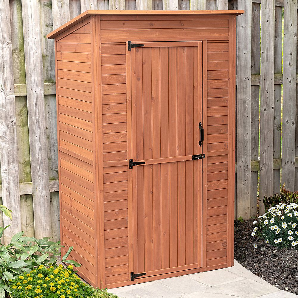 Leisure Season Deep Storage Shed with Drop Table | The ...