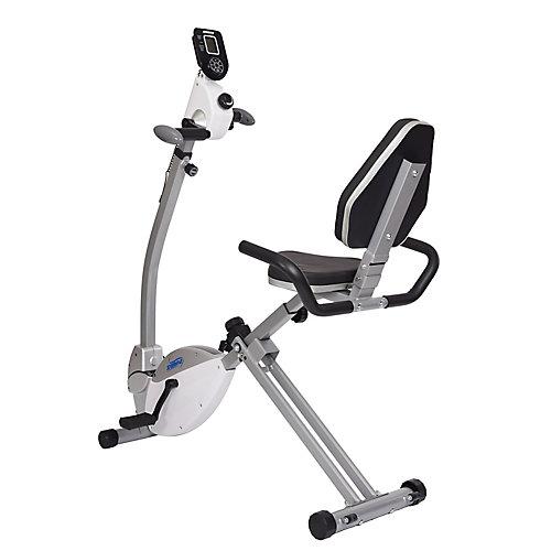 Vélo horizontal de avec exerciseur pour le haut du corps