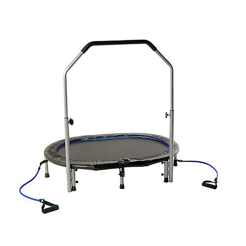 Mini trampoline ovale jogger d'Avari