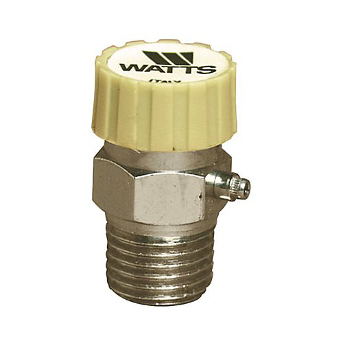 Watts 1/8 In. Ips Brass Automatic Vent Valve In Chrome