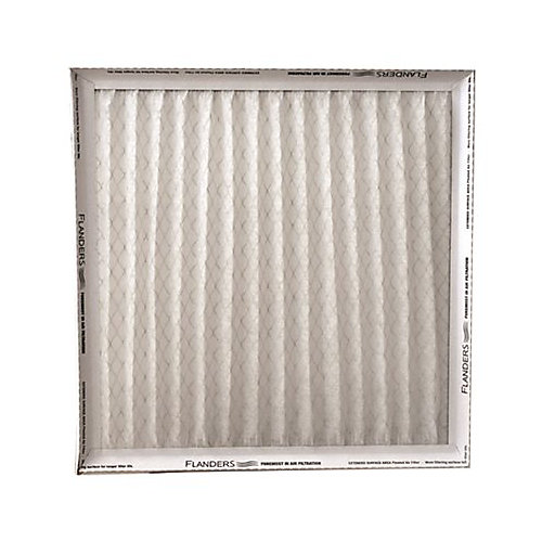 Flanders Precisionaire Pinch Pleated Merv 6 Air Filter, 20 In. X 25 In. X 1 In. (Case Of 12)