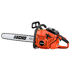 80.7CC 2-CYCLE (STROKE) GAS REAR HANDLE CHAINSAW WITH 24