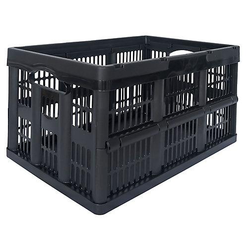 46L Folding Crate