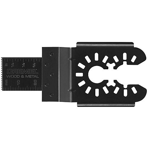 Dremel Multi-Max 3/4 inch Oscillating Tool Blade for Wood and Metal