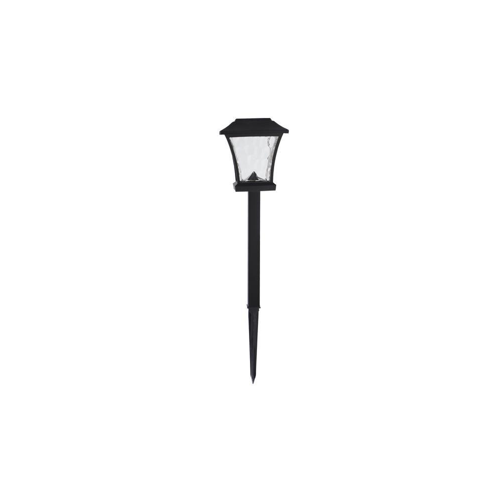 8-Lumen Solar LED Bronze Landscape Pathway Light