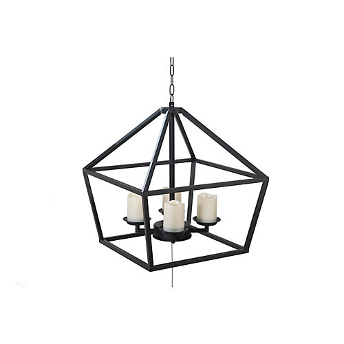 Led Four Candle Gazebo Droplight