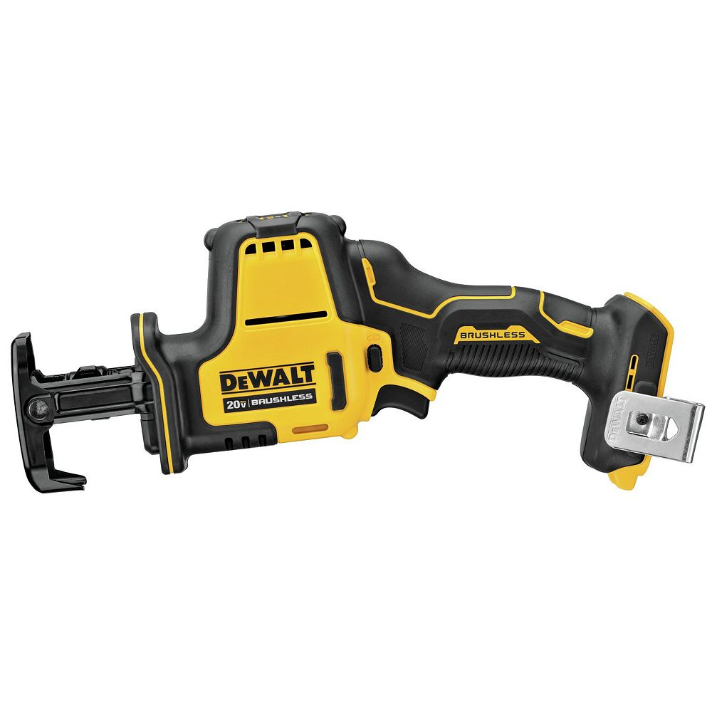 DEWALT ATOMIC 20V MAX Cordless Brushless One-Handed Reciprocating Saw (Tool Only)