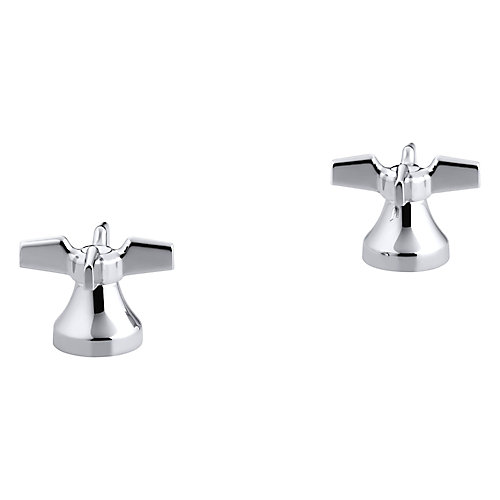 Cross Handles For Widespread Base Faucet