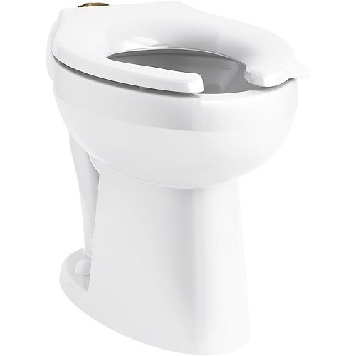 Highcliff(TM) Ultra Ada-Height Flushometer Bowl With Top Spud