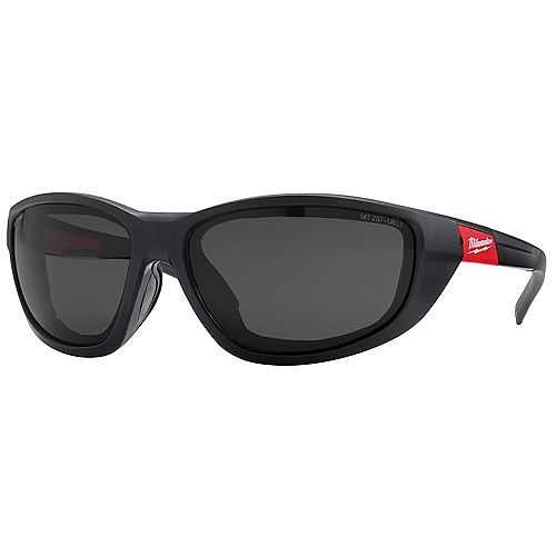 Milwaukee Tool High Performance Safety Glasses with Polarized Lenses and Gasket