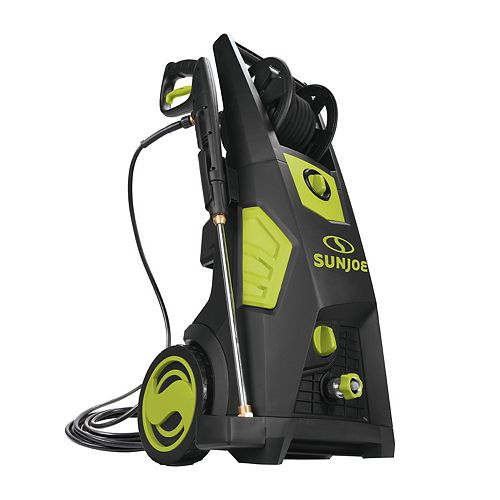 Sun Joe 2300 PSI Max 5.6 LPM Sun Joe SPX3501 Brushless Induction Electric Pressure Washer with Hose Reel
