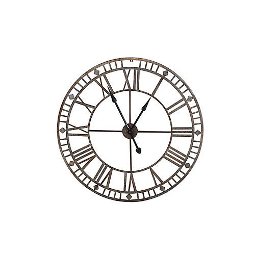 Outdoor Steel Clock