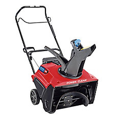 Power Clear 721 R 21 in. 212 cc Single-Stage Self Propelled Electric Start Gas Snow Blower