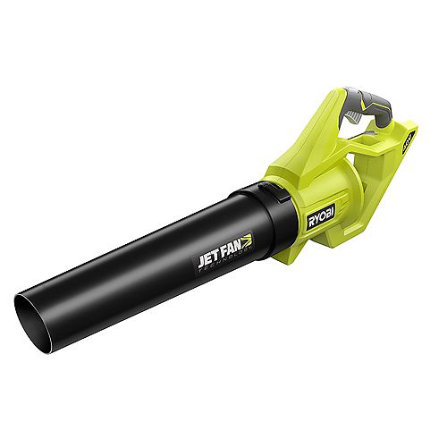 RYOBI 110 MPH 500 CFM Variable-Speed 40V Lithium-Ion Cordless Battery Jet Fan Leaf Blower (Tool Only)