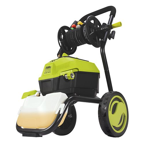 Sun Joe 2500 PSI Max 5.6 LPM Sun Joe SPX4501 High Performance Electric Pressure Washer with 20 ft. Hose Reel