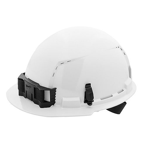 Front Brim Vented Hard Hat with BOLT Accessories Type 1 Class C