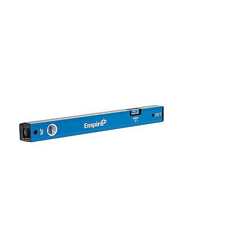 Empire 24 pouces- 40 pouces True Blue Extendable Box Level extensible de 40 pouces