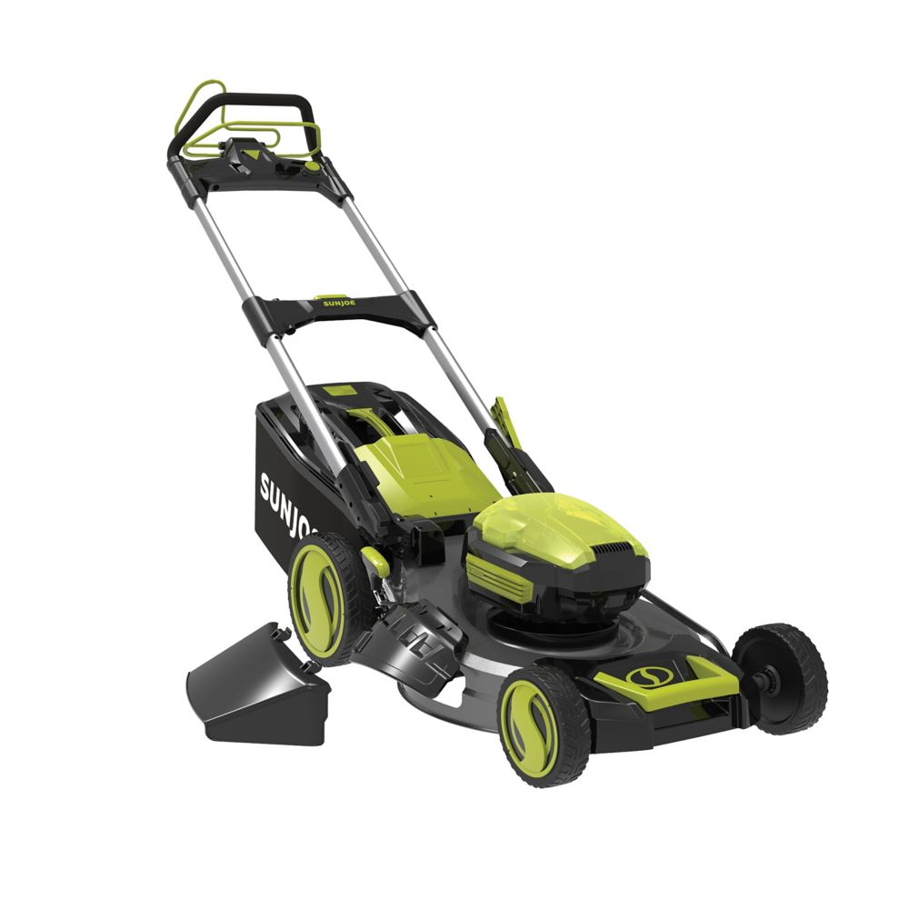 Sun Joe 100V Lithium-iON Cordless Self-Propelled Lawn Mower (No Battery + Charger)