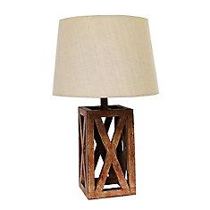 Lampe de Table en Bois Logan