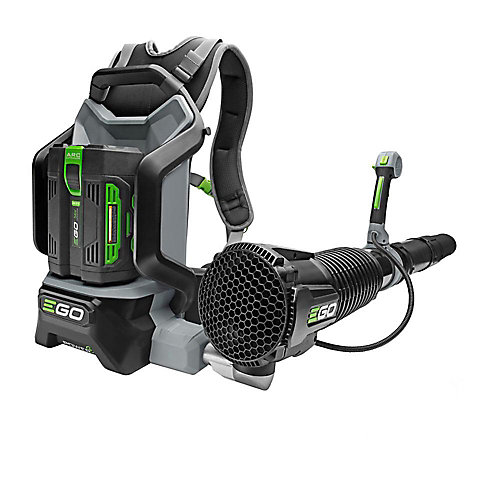 145 MPH 600 CFM 56V Li-Ion Cordless Backpack Leaf Blower - 7.5 Ah Battery and 210W Charger Included