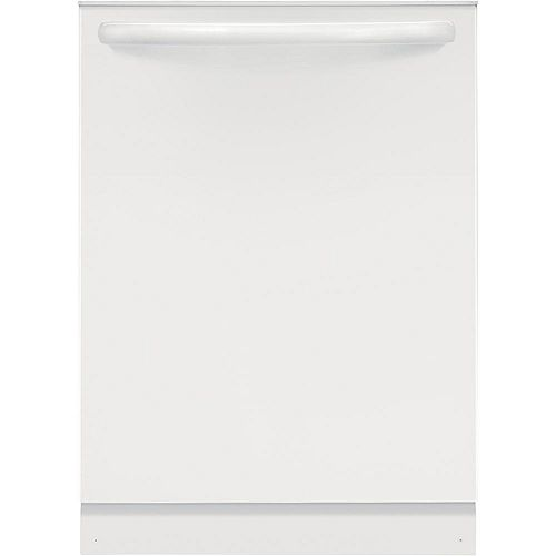 Frigidaire 24-inch Dishwasher in White with Polymer Tub and OrbitClean Spray Arm - ENERGY STAR®