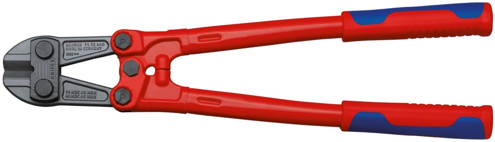 18-1/4 inch Large Bolt Cutters with Multi-Component Comfort Grip, 48 HRC Forged Steel