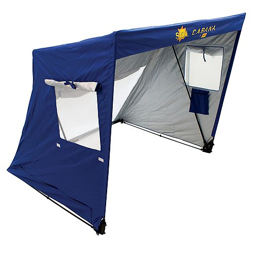 RIO Brands Beach Sol Cabana Sun Shelter - Blue