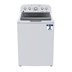 27-inch 4.9 (IEC) Cu. Ft. Top Load Washer with Stainless Steel Drum in White - ENERGY STAR