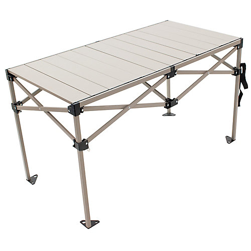 Gear Table Étirable en Aluminum 48 x 25 po