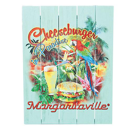 Wall Art - Cheeseburger in Paradise